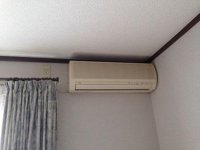 エアコン取替え前