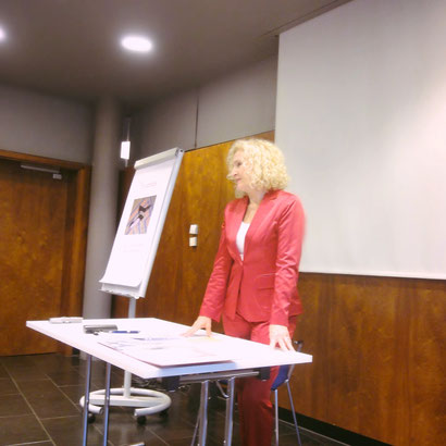 Ruth Cerny beim Seminar Frauensache