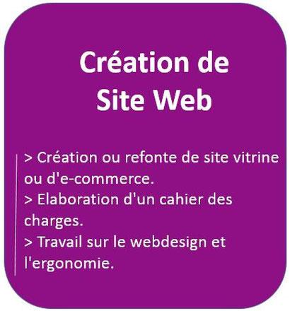 Web 2 Conseil Formation : agence de création et de production de site vitrine et E-commerce,