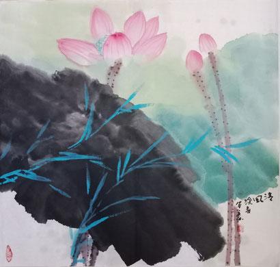 Seerose (50x50 cm)