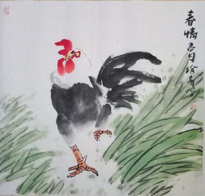 Frühling (50x50 cm)