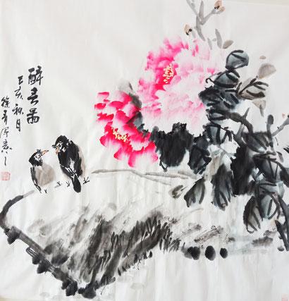 Frühlingsgefühle (68x68 cm)
