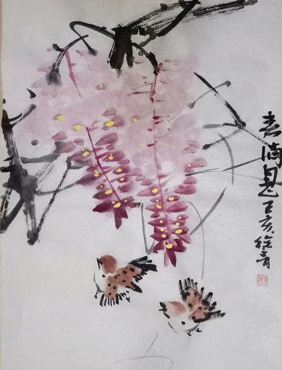 Frühling 2 (46x35 cm)