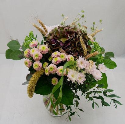 Blumenstrauß  mit Hortensien Wien
