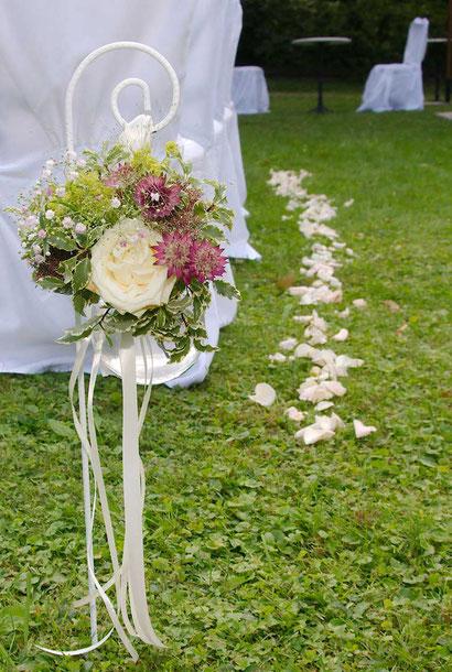 Dekoration Hochzeit Garten Hochzeitsfloristik Wien