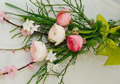 Blumenstrauß Wien mit Ranunkel