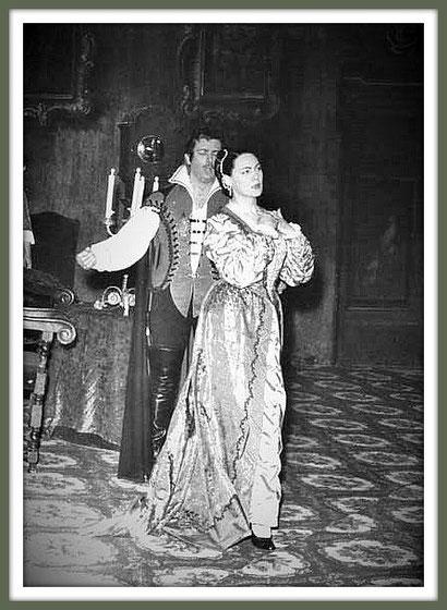 LA FORZA DEL DESTINO - Napoli 1958 - con Renata Tebaldi