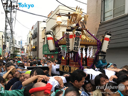 萩・世田谷 幕末維新祭り,神輿渡御,2020年,開催中止