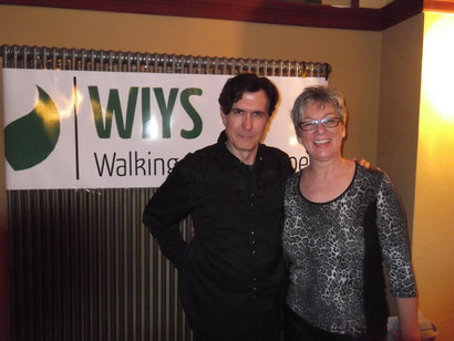 Joseph Culp (WIYS-Gründer)                     Regina Raabe (WIYS-Ausbilderin)
