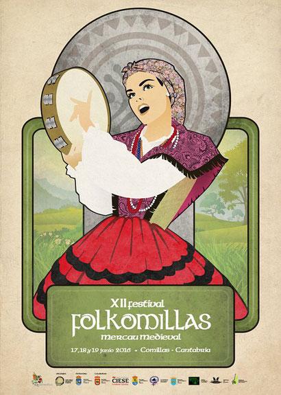 Programa del Festival Medieval de Comillas