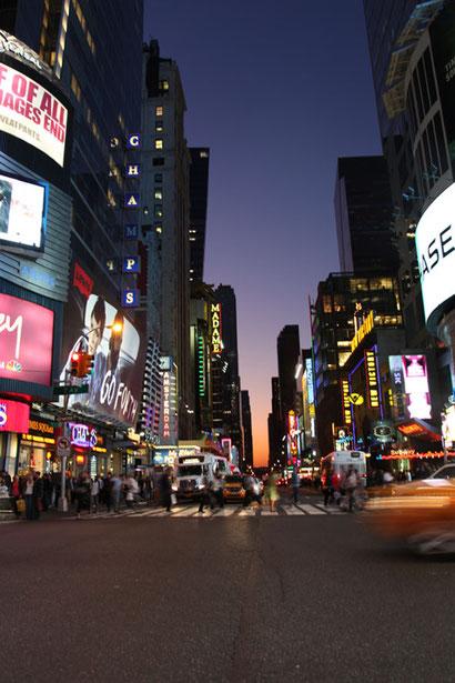 Beim Times Square