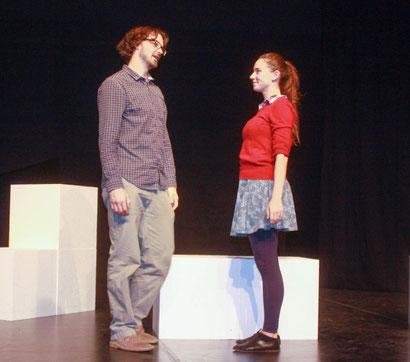 JERRY FINNEGAN'S SISTER (Regie: Victoria Halper) mit Doug Andrews & Victoria Halper