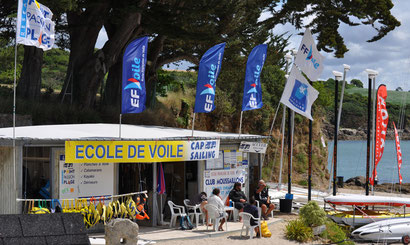 Notrte Ecole de voile, Point Passion Plage Nevez