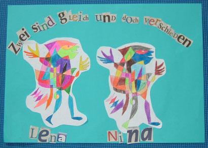 Lena Halm und Nina Schimansky (9 Jahre): Narren