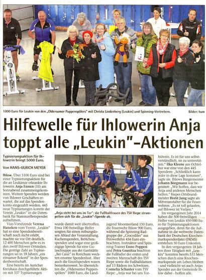 Emder Zeitung v. 19.01.2015