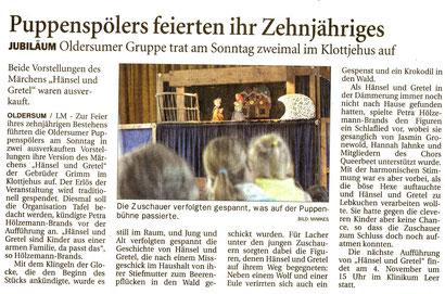 Ostfriesen-Zeitung v. 4.10.2017