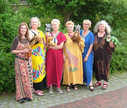v.l. Petra Hölzemann-Brands, Petra Onnen, Heike Broeckelmann, Barbara Petersen, Christel Wilden, Margareta Wermuth