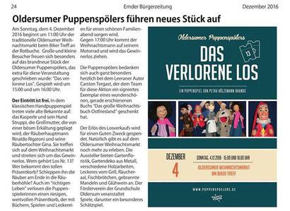Emder Bürgerzeitung v. 2.12.2016