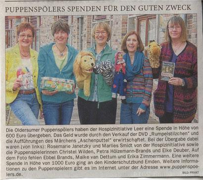 Ostfriesen-Zeitung v. 13.03.2014