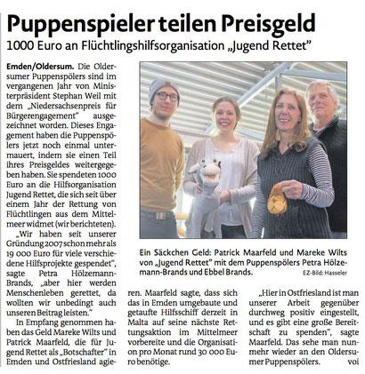 Emder Zeitung v. 21.03.2017