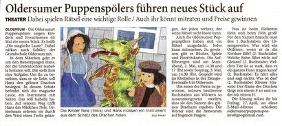 Ostfriesen-Zeitung v. 10.04.2015
