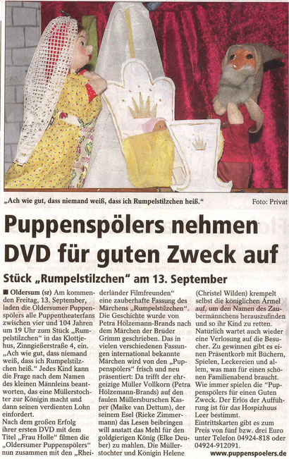 SonntagsReport v. 8.09.2013