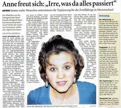 Ostfriesen-Zeitung v. 1.02.2013