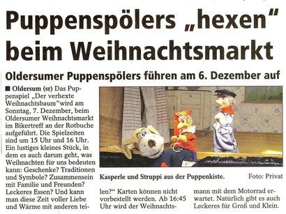 SonntagsReport v. 29.11.2014