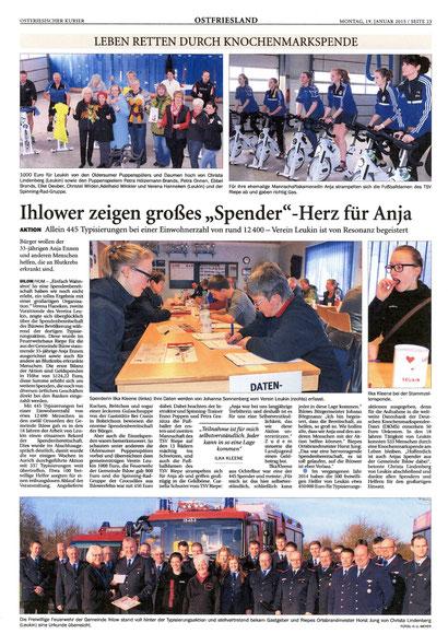 Ostfriesischer Kurier v. 19.01.2015