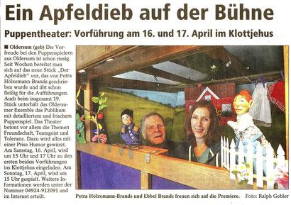 SonntagsReport v. 19./20.03.2016  Foto: Ralph Gebler