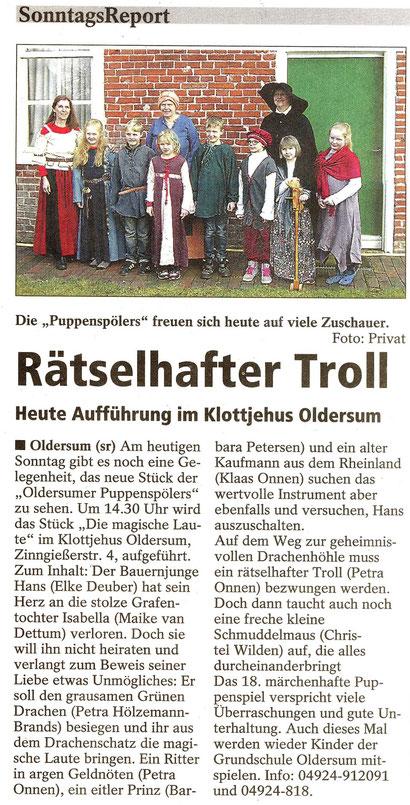 SonntagsReport v. 3.05.2015