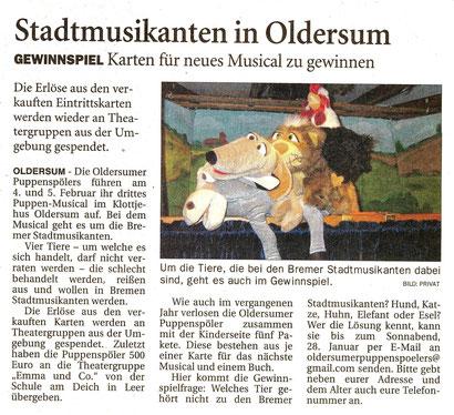 Ostfriesen-Zeitung v. 18.01.2017