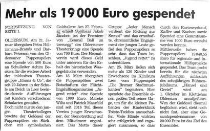 Der Wecker v. 8./09.04.2017