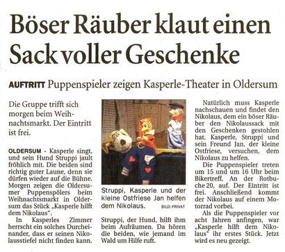 Ostfriesen-Zeitung v. 5.12.2015