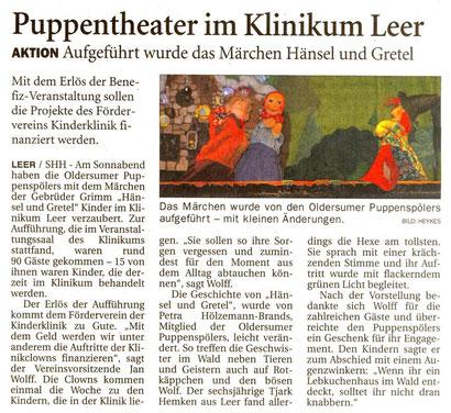 Ostfriesen-Zeitung v. 8.11.2017