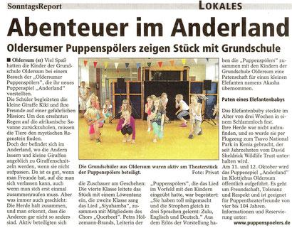 SonntagsReport v. 10.08.2014