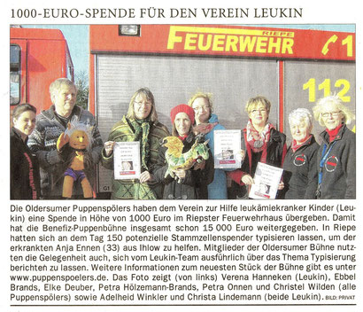 Ostfriesen-Zeitung v. 9.02.2015