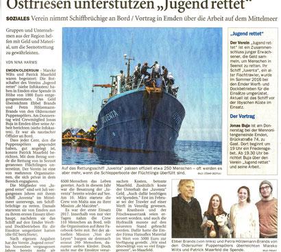 Ostfriesen-Zeitung v. 28.03.2017