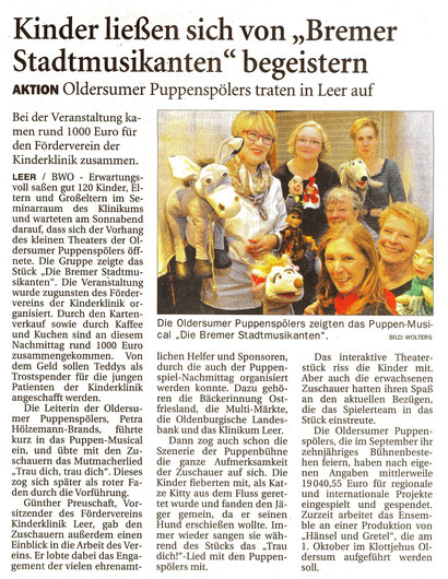 Ostfriesen-Zeitung v. 30.03.2017
