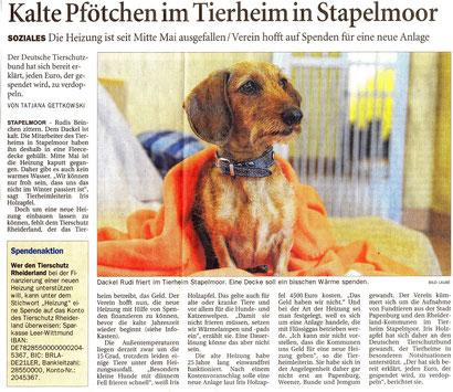 Ostfriesen-Zeitung vom 29.05.2015