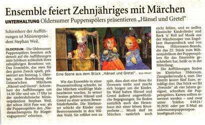 Ostfriesen-Zeitung v. 24.08.2017
