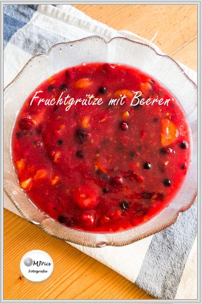 Rezept für Fruchtgrütze mit Beeren