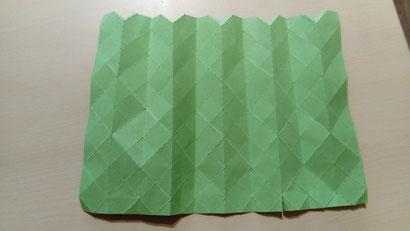 origami réalisé à l'aide de la découpeuse vinyle.
