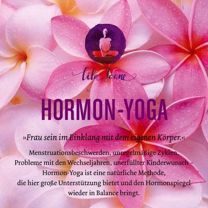 Hormon-Yoga in Brederis, Rankweil und online. Workshops und Einzelsitzungen.