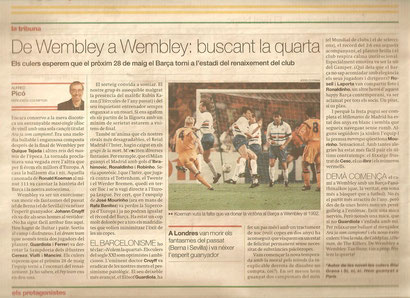 Article de l'Alfred Picó a El Periódico