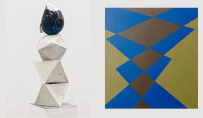 Karin Suter (Skulpturen) und Willi Schoder (Bilder)