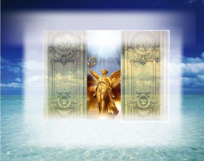 大天使 と 次元の扉