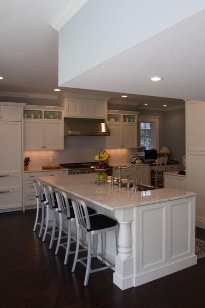 Kitchen renovation & addition