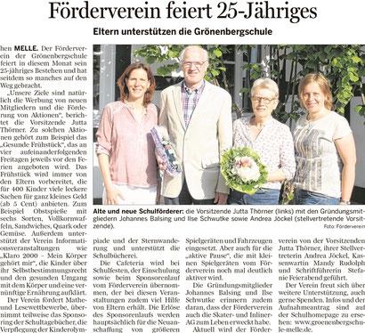 25 Jahre Förderverein