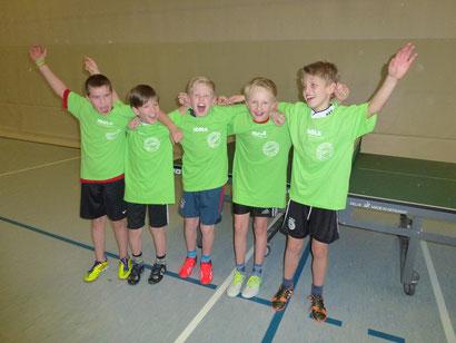Das Gewinner-Team der Klasse 4c
